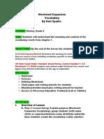 ksparks vocabulary lesson plan