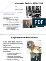 Ppt Cambio de 1920 .1938