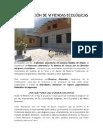 Construcción de Viviendas Ecológicas