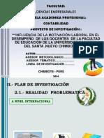 Modelo de Diapositivas Proyecto