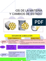 Estados de La Materia y Propiedades de Los Sólidos