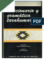 Márquez Terrazas, Zacarías. Diccionario y Gramática Tarahumares
