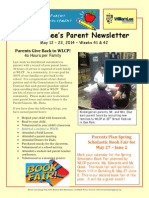 WLCP Newsletter May 12 - 23 2014