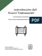 Apuntes Magistrales Interpretación NT
