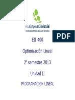 Capitulo II - Programacion Lineal (1)