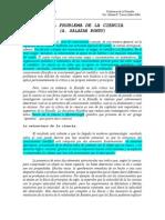 P. DE LA CIENCIA