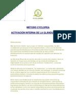 Metodo_cyclopea Seminario Glándula Pineal