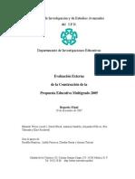 EvaluacionExternadelaConstrucciondelaPEM2005