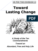Toward Lasting Change (Part 1)