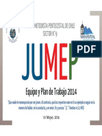 Plan de Trabajo JUMEP 2014