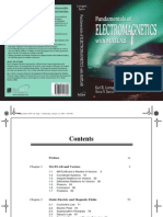 Fundamentals of Electromagnetics