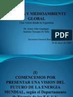 Energia y Medioambiente Global Madrid Mayo 2009