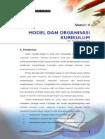 Model Pengembangan Kurikulum