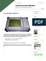 Uso Del Site Master_ VSWR y DTF