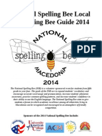 Local Qualifying Bee Guide 2014