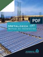 Manual de Instalacion METALDECK-FINAL