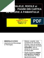 1 Mineralele Si Rocile, File Din Cartea De