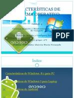 Características de Sistema Operativo