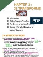 3 - Laplace Transform