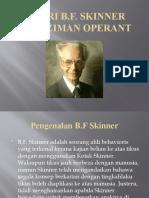 Teori Skinner