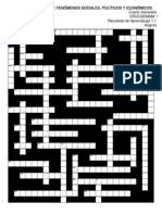 COFE Crucigrama 1 R.a. 1.1