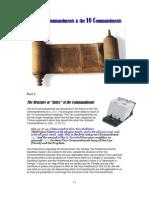The 613 commandments and the 10 commandments part 2