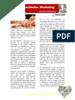 Artículo de Opinión Sobre La Corta Historia de La Mercadotecnia.