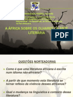 A África Sobre Os Olhares Da Arte Literaria