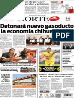 Periódico Norte de Ciudad Juárez edición impresa del 14 mayo de 2014