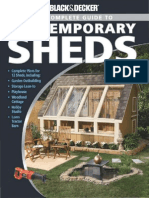 Black & Decker the Complete Guide to Contemporary Sheds