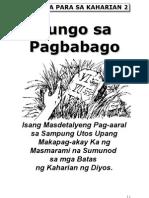 Tungo sa Pagbabago