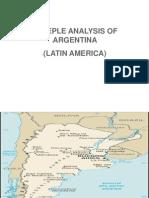 Argentina Steeple Analysis