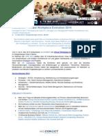 Virtual Workplace Evolution 2014 - Rückblick