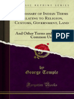 A Glossary of Indian Terms Relating to Religion Customs Government 1000169757