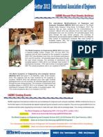 IAENG Member Newsletter 201302