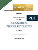 SENSORES PIROELECTRICOS