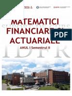 Matematici Financiare Si Actuariale SC - ID