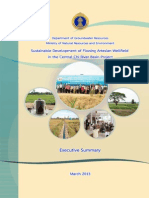 Sustainable Development of Flowing Artesian Wellfield in the Central Chi River Basin Project