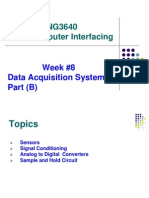 Week Data Acquisition