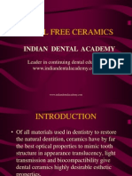 Metal Free Ceramics / orthodontic courses by Indian dental academy