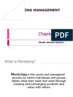 Marketing Management CH1