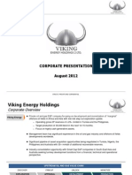 Viking Energy Presentation