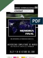 Memoria Final SD2009