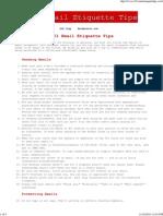 Email Etiquette_ 101 Email Etiquette Tips