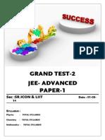 01-05-14 Sr.icon & Liit Ph-III Bt-1 Jee-Adv Gt-2 Paper-1