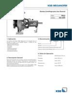 Meganorm - A2742 0S_2 - Manual Técnico Versión Con Sello Mecánico
