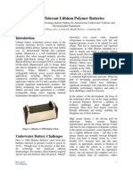 Lithium Battery Technology_Wilson_April 2009