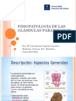 FISIOPATOLOGIA PARATIROIDES