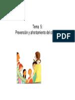 Tema 5. Prevención y Resolución de Conflictos