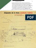 Alejandro de La Sota Construir,Habitar